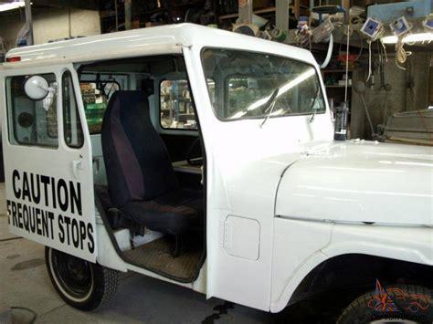 mail jeep interior 1983 amg jeep postal vehicle