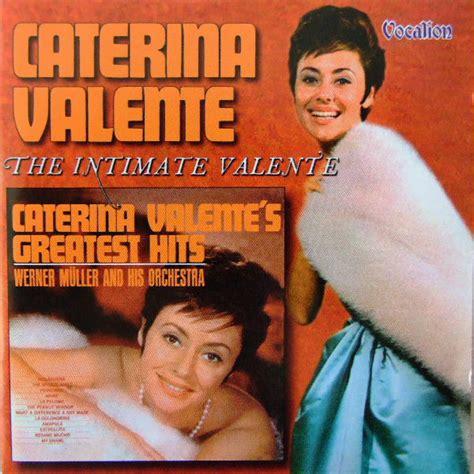 caterina valente jazz cd caterina valente greatest hits the intimate valente