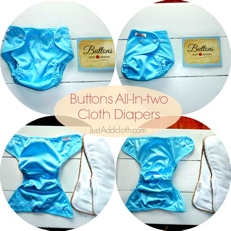 All About Cloth Diapers | economical diapering buttons all in two cloth diapers