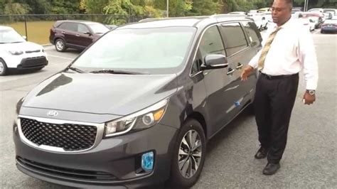 Bob King Kia In Winston Salem Nc All New 2015 Kia Sedona Walk Around 1 Kia Dealer In Nc