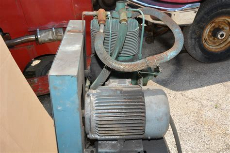 compair kellogg horizontall air compressor 5 hp 80 gal inv 17786 ebay