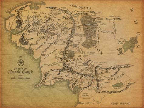 lord of the rings middle earth map middle earth label the map quiz by tolkienite