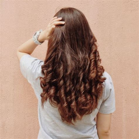 bottom curls on long hair hairscapades pinterest