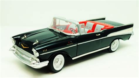 ertl scale 1 18 chevrolet bel air convertible 1957 black catawiki