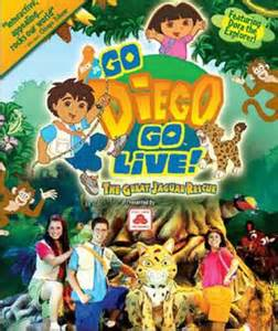 Go Diego Go Live The Great Jaguar Rescue Tri State Theater How Big A Is