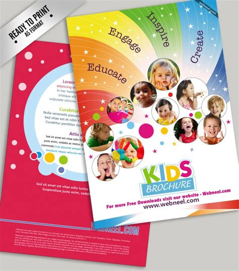 child care brochure templates free nursery school brochure thenurseries