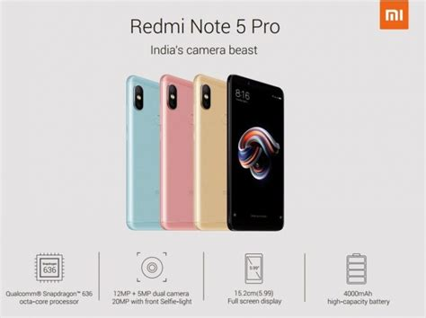 Xiaomi Redmi Pro 5 5 Inc Dual Back Casing Slim Back Covers spesikasi dan fitur xiaomi redmi note 5 pro doki gadget store indonesia