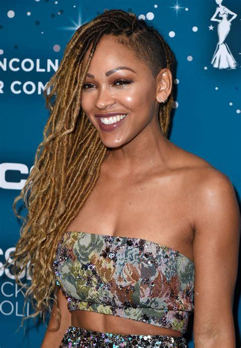 black women los angeles hairstyles meagan good essence black women in hollywood awards in