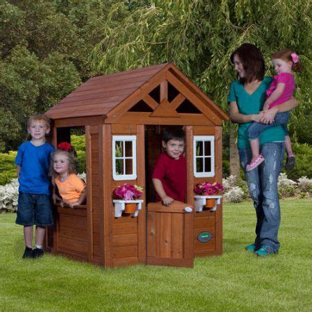 Backyard Discovery Timberlake Cedar Wooden Playhouse by 1000 Ideas About Wooden Playhouse On Pinterest Diy Shed