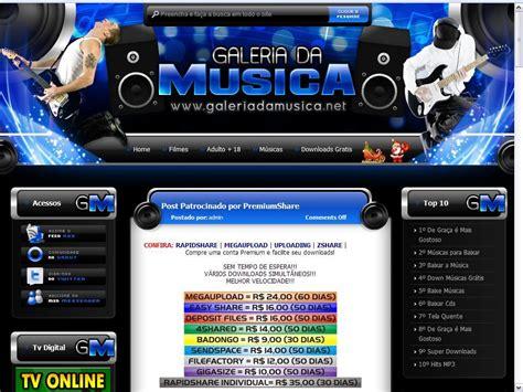 templates para blogger de musica click templates template galeria da musica