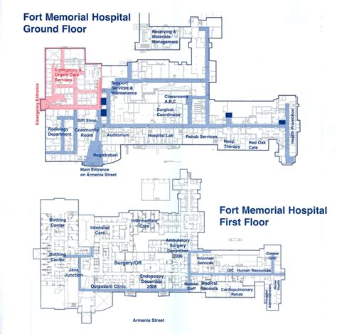 floor plan hospital all floor plans of hospitals house plans