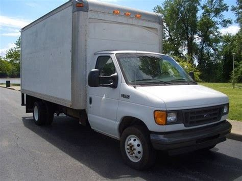 how cars work for dummies 2003 ford e series parental controls purchase used 2003 7 3 powerstroke diesel ford e350 16ft box van cutaway w no reserve