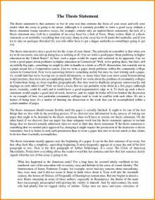 Exle Of Essays by 7 Thesis Statement Exles For Essays Statement 2017