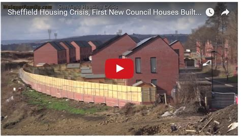 rent to buy council houses sheffield housing crisis first new council houses built