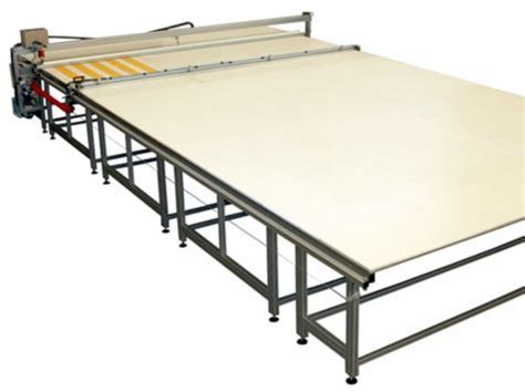 commercial fabric cutting table rh plastics technology smre sm 420 ta