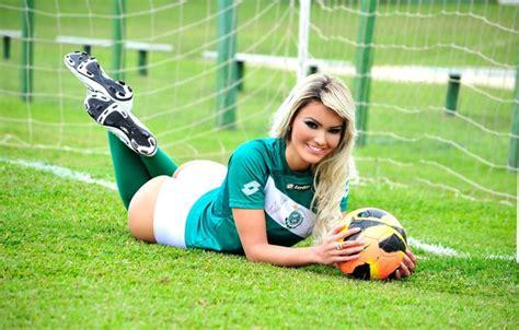wallpaper girl football wallpaper football sexy athlete jacqueline dos santos