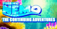 finding nemo: the continuing adventure download game