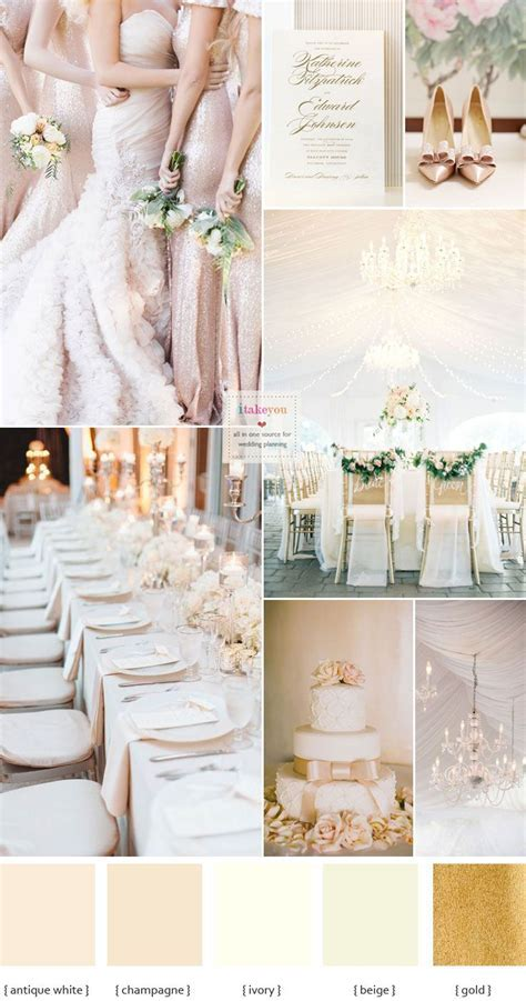 Best 25  Champagne wedding colors ideas on Pinterest