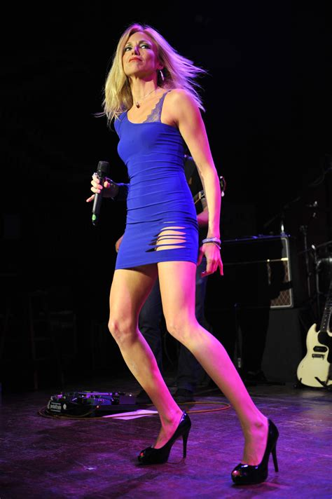 debbie house debbie gibson house of blues performance in blue tight dress 01 gotceleb