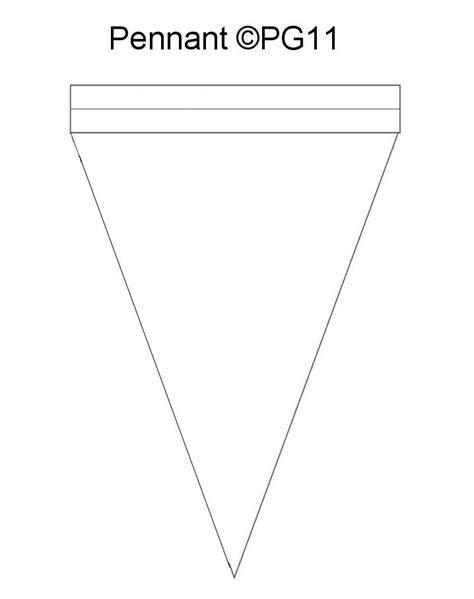 printable paper banner templates pennant banner template i made paper craft templates by