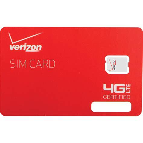4ff Sim Card Template by Apple Verizon 4g Lte 4ff Nano Sim Card Dfillsim4ff A B H Photo