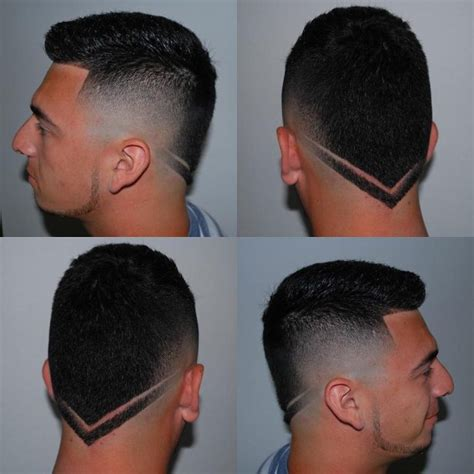 how cut v shaped short haircut 50 great shape up haircuts it s all about angles 2018