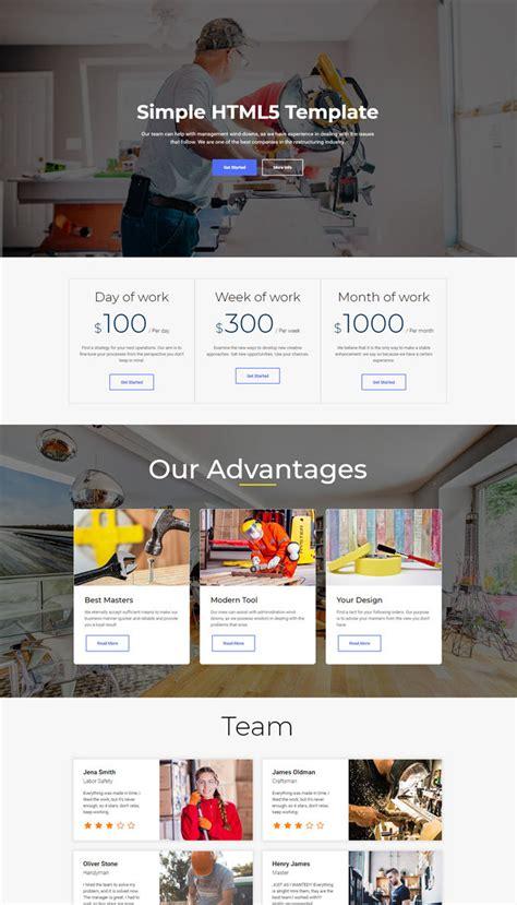 30 Best Great Professional Website Templates Collection Simple Professional Website Templates