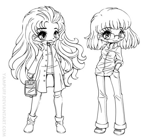 chibi christmas coloring pages being human generbent lineart commission by yampuff on