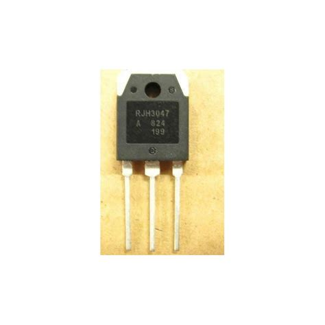 transistor igbt rjh3047 rjh3047 mosfet silicon n channel igbt high speed power switching to 247 atvpartselectronique