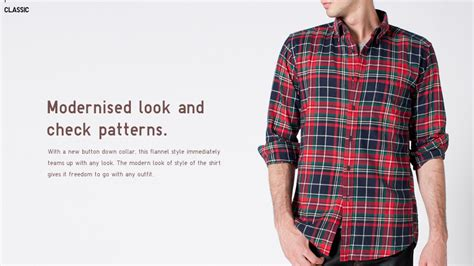 Oxford List Flannel Shirt s flannel shirts checked sleeve shirts uniqlo