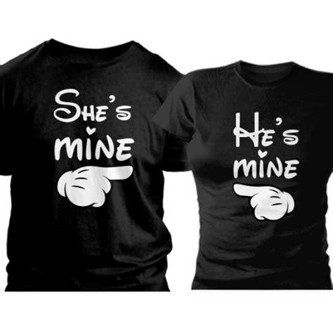 He S Mine She S Mine for couples t shirts she s mine he s mine komplet