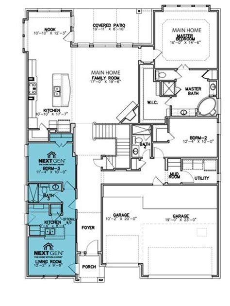 lennar 174 homes a home within a home floor plans