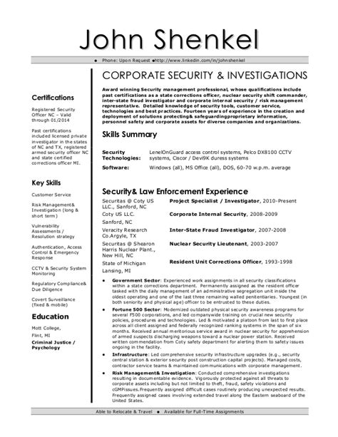 Ciso Resume by Resume