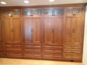 Closet Cabinet Doors Custom Made White Oak Wardrobe Closet By Oak Mountain Custom Woodwork Custommade