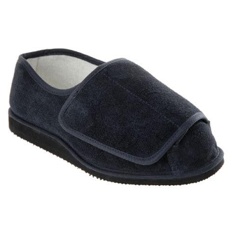 mens slippers for swollen unisex rowan suede slipper shoe for swollen