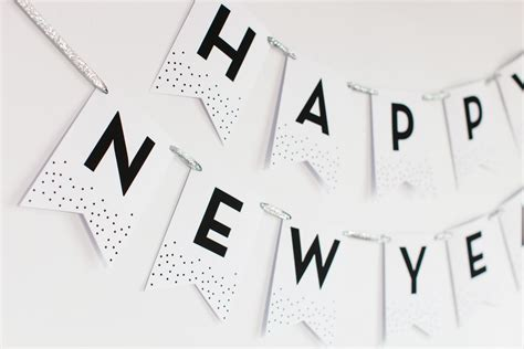 printable happy new year banner 2016 new year s eve party cricut explore giveaway the