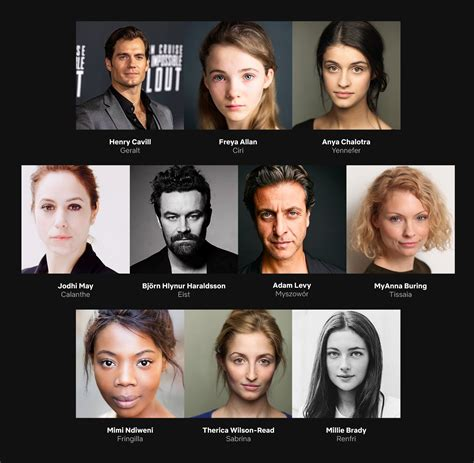 witcher series cast revealed jcphotog