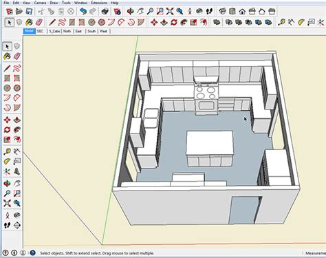 sketchup kitchen layout image gallery sketchup cabinets