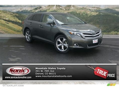 Toyota Venza Colors 2013 Cypress Green Pearl Toyota Venza Limited Awd