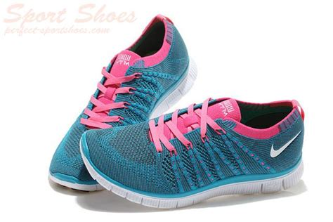 blue and pink nike running shoes 2015 authentic nike free 5 0 flyknit running shoes on