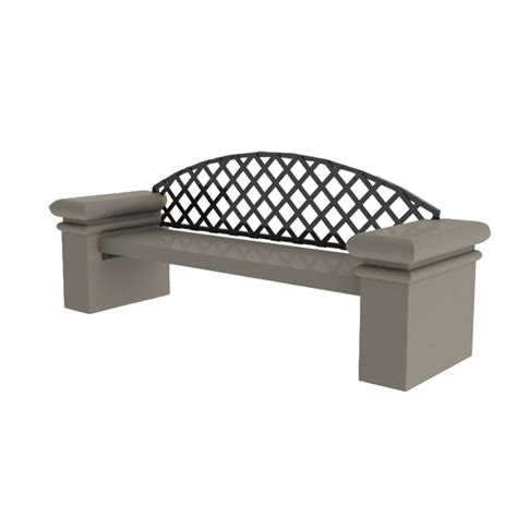 concrete benches with backs db84 series concrete bench with back concrete outdoor