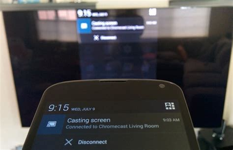 android cast screen to tv how to cast android screen on your smart tv