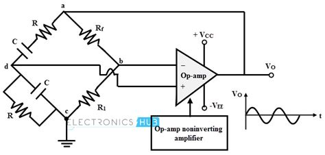oscillator without capacitor wein bridge oscillator