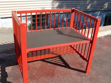 upcycled baby crib upcycled crib and finally finished painted tires child