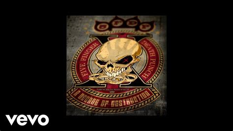 five finger death punch on youtube five finger death punch gone away audio youtube