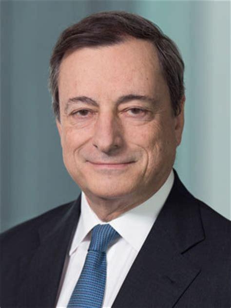 presidente della centrale europea mario draghi