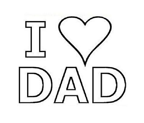 love heart coloring pages free coloring pages of i love you dad