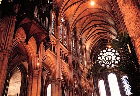 Chartres Cathedral Interior by Chartres Cathedral Interior
