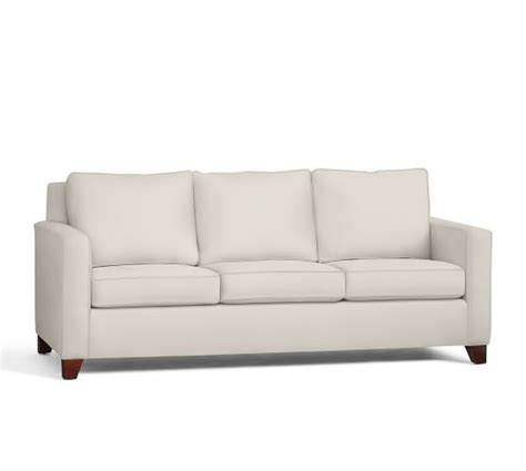 square arm sofa cameron eco square arm upholstered sofa pottery barn