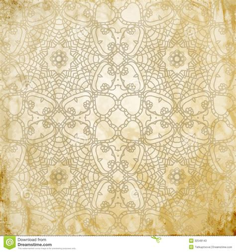 yellow indian pattern background lace pattern background with indian ornament stock photos